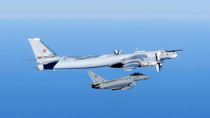 Typhoon and Russian Bear