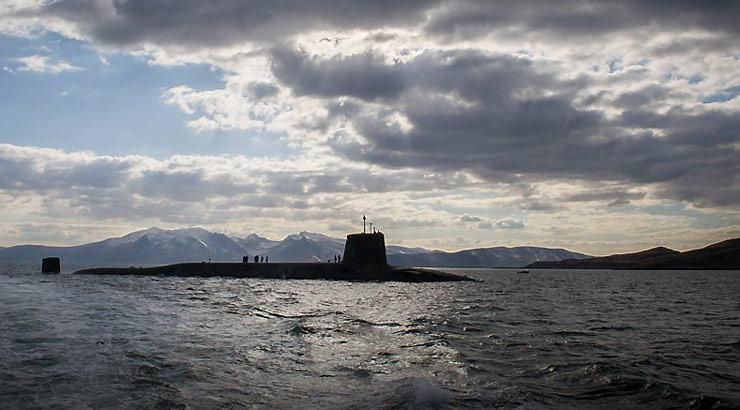 Vanguard class Trident missile submarine