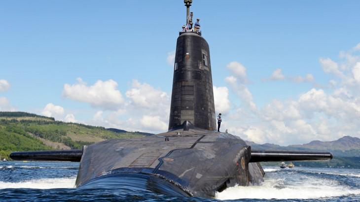 Trident ballistic missile submarine